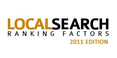 Factores de Posicionamiento - SEO Local 2011