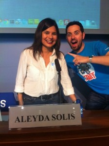 Aleyda Solis & Rand Fishkin en Mozcation Barcelona