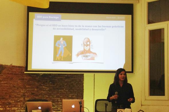 SEO Para Startups - Emprendedores - Aleyda Solis