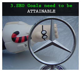 Attainable SEO Goals