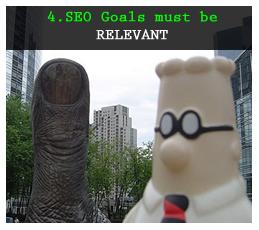 Relevant SEO goals