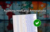 Auditing Hreflang Annotations