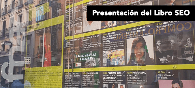 Presentación Libro SEO en Fnac Callao Madrid